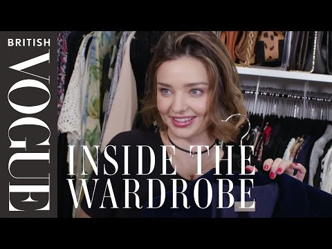 Miranda Kerr: Inside the Wardrobe | British Vogue