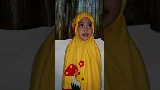 Surah an naba' recited by Aaira (3 years 5 months old)
