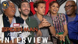 Spider-Man: Far From Home Cast on Their Favorite Movie Theater Memories