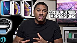 iPhone Xs, iPhone Xs Max, iPhone XR First Impressions!