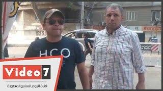 بالفيديو.. محمد هنيدى يدلى بصوته فى انتخابات البرلمان بالمهندسين     -