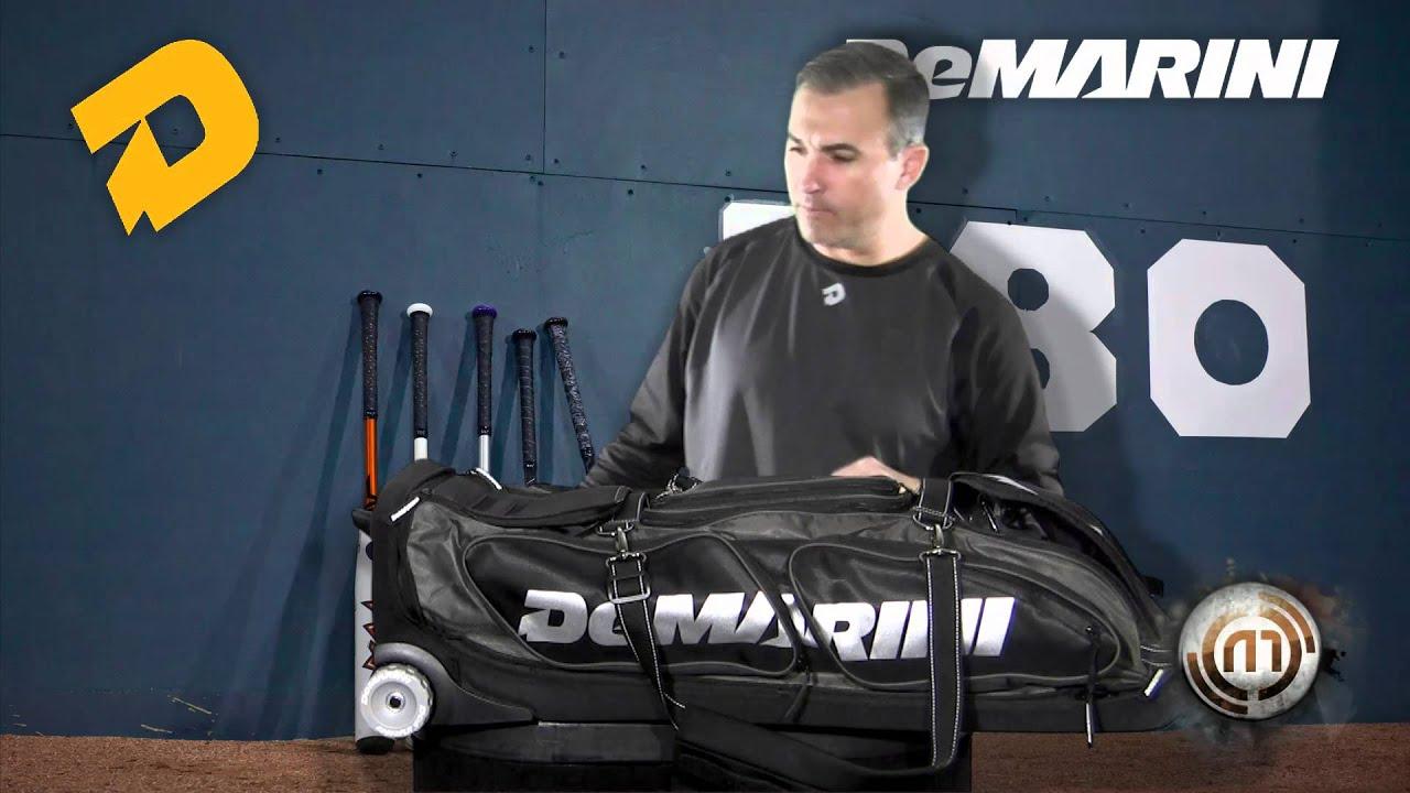 Demarini Black Ops Wheel Bag Youtube