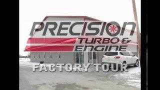 Precision Turbo FACTORY TOUR