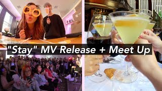 """Stay"" MV Release Party + BEST STEAK IN NEW YORK!"