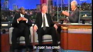 Magic Johnson & Larry Bird ospiti al Late Show di Letterman sub ita, parte due