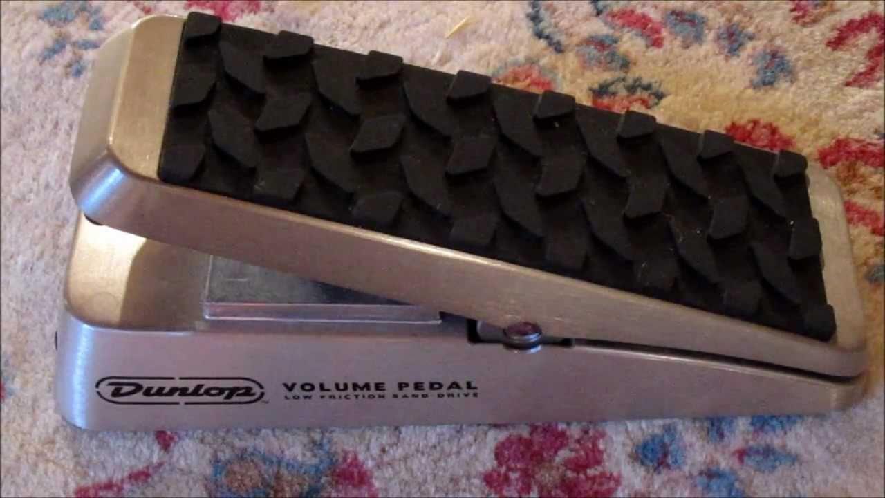 dunlop dvp1 volume pedal review demo youtube. Black Bedroom Furniture Sets. Home Design Ideas