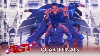 America's Got Talent: Indian dance group shocks US again, ..