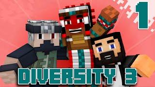 Team Canada Plays DIVERSITY 3 - EP01 (Custom Minecraft Map)