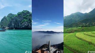 Tik tok.!.Cùng chiêm ngưỡng cảnh đẹp khắp Việt Nam qua những video Tik Tok đẹp mắt !!!