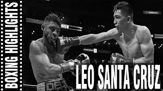 Leo Santa Cruz Highlights HD