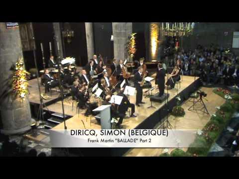 DIRICQ, SIMON (BELGIQUE) Ballade de Frank Martin Part 2