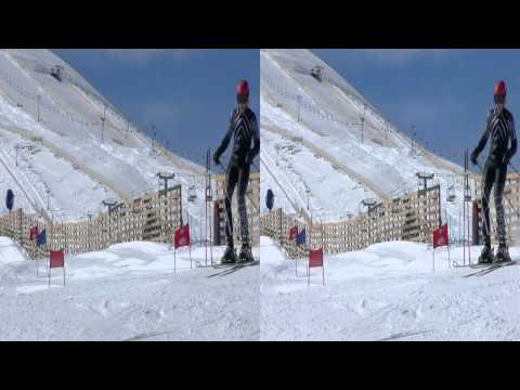 Snow Mountain from Chile in 3D by TV3D.CL