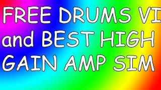 FREE Slate Drums VSTi + Best Heavy Metal Guitar Amp Sim 2018