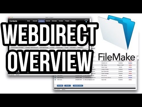 FileMaker 13 WebDirect Overview and Optimization