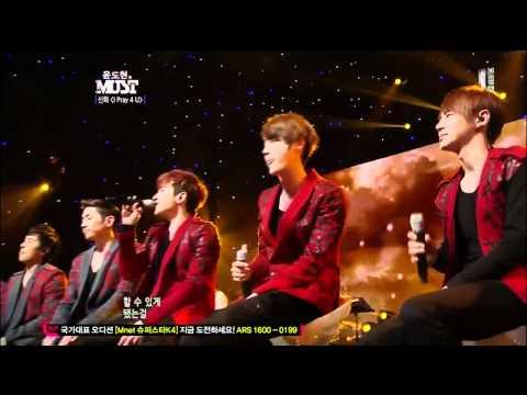 120505 MUST Shinhwa -  Perfect Man & I Pray for U