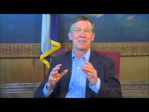 Gov. John Hickenlooper's message to DSF Scholars.wmv