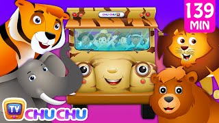 Wheels on the Bus - Wild Animals & Animal Sounds and Many more Nursery Rhymes Collection | ChuChu TV