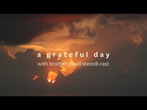 Popular TED Speaker Releases A Grateful Day