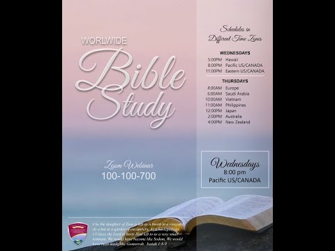 [2020.04.15] Worldwide Bible Study - Bro. Randy Macaspac