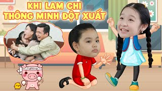 """Gia đình là số 1 P2: Lam Chi và những lần thông minh đột xuất khiến Tâm Anh """"tâm phục khẩu phục"""""""