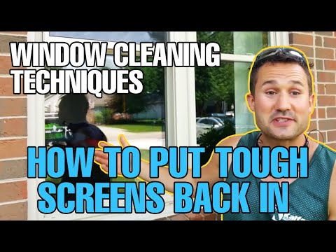 Window Cleaning Techniques - How To Put
