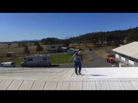 How to Waterproof a Metal Roof Using Ames® Maximum-Stretch™