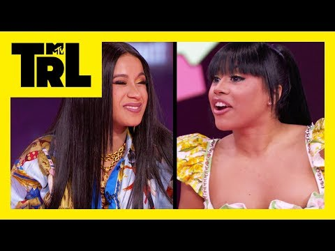 Hennessy Carolina Surprises Cardi B w/ A Brand New Gucci Bag! | I Did It | TRL
