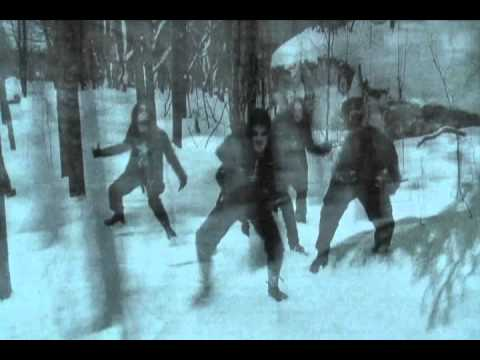Benny Hill version black metal