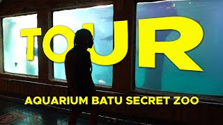 GREBEK SEMUA AQUARIUM DAN MEGATANK DI BATU SECRET ZOO TOUR !