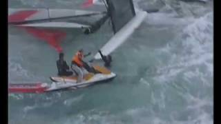 Catamaran sportif