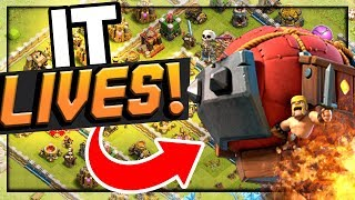 IT LIVES! Clash of Clans Strategy - Battle Blimp 3-Star Attacks!