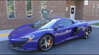 Here's Why the McLaren 650S Is a Modern Exotic Car Bargain