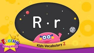 Kids vocabulary compilation ver.2 - Words starting with R, r - Learn English for kids