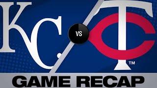 Maldonado, Bonifacio lead Royals past Twins | Royals-Twins Game Highlights 6/16/19