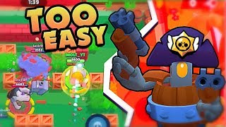 HOW TO play DARRYL in brawl stars with Molt
