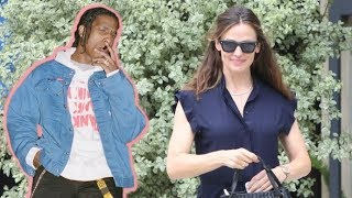 Jennifer Garner Looks Amazing In Navy Dress When Asked If A$AP Rocky Should Be Freed