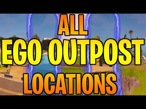 *ALL* EGO Outpost Locations Fortnite Chapter 2