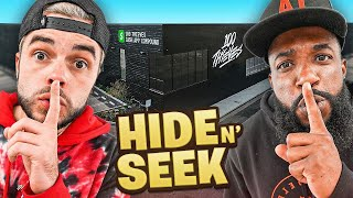 2HYPE Hide And Seek In 100 Thieves Cash App Compound!