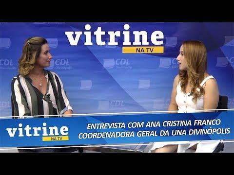 Imagem Parceria Faculdade UNA e CDL Divinópolis - VITRINE NA TV 04/08/2018