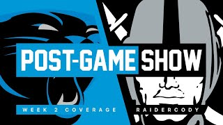 Las Vegas Raiders vs. Carolina Panthers - Post Game Show
