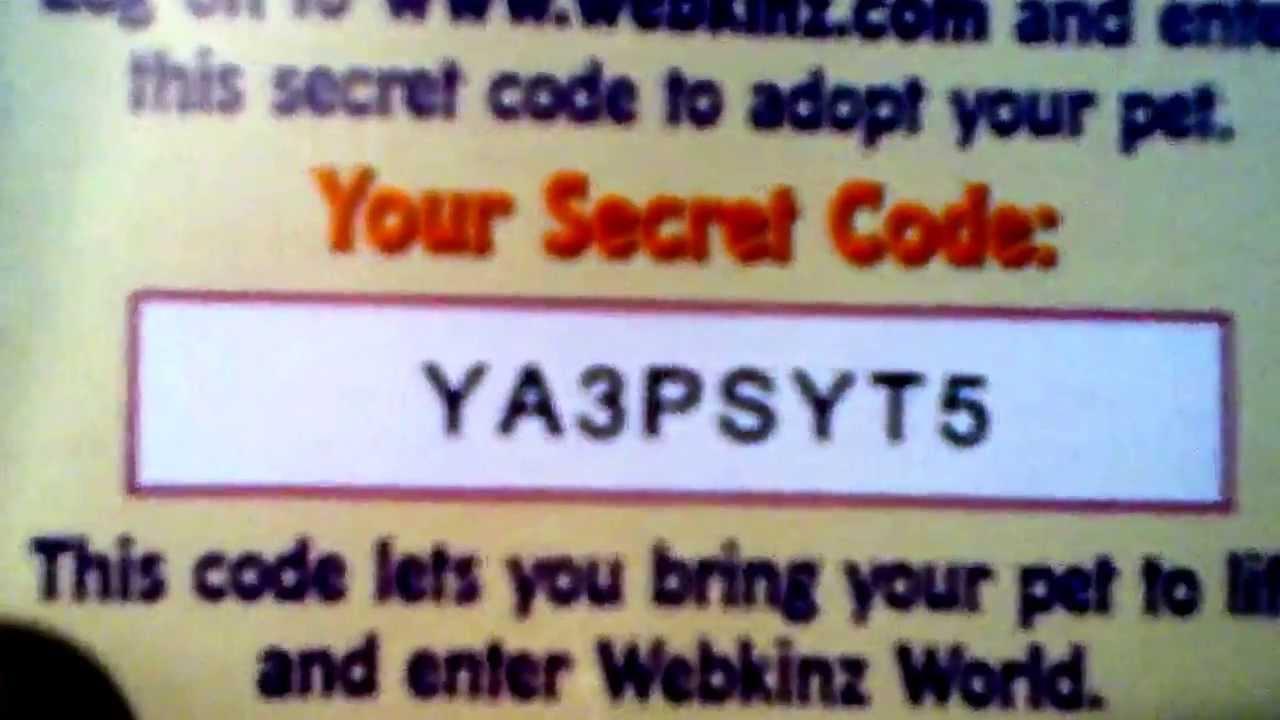 100+ Webkinz Codes – yasminroohi