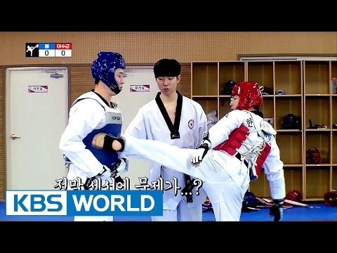 Soo-guen VS Boom Taekwondo battle! It's not over until it's over [Guesthouse Daughters / 2017.05.16]