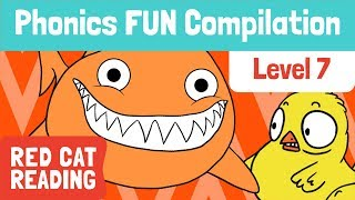 Fun Phonics   Level 7   ch, ck, sh, th, TH   How to Read   Made by Red Cat Reading