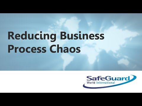 Reducing Business Process Chaos