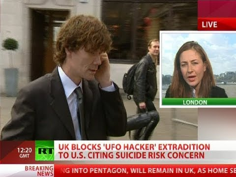 UK blocks \'UFO-hacker\' Gary McKinnon US extradition