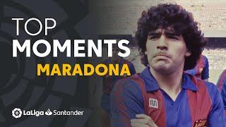 TOP MOMENTS Diego Maradona en LaLiga