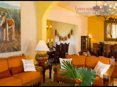 Nuestras casas psicologia del color youtube - Pintura y decoracion de casas ...