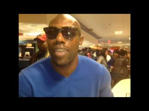 Terrell Owens at Woodland Bowl