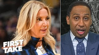 Jeanie Buss is on the brink of ruining the Lakers' franchise - Stephen A. | First Take