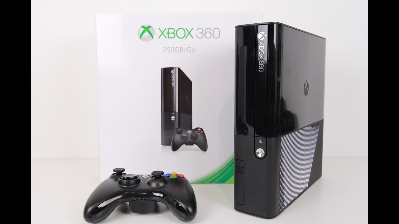 Xbox 360 - E Super Slim Unboxing and Giveaway - YouTube